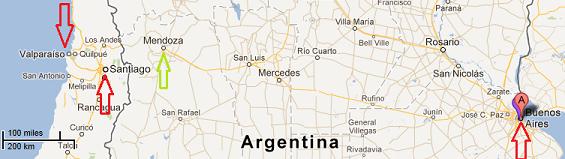 Buenos Aires - Présentation du voyage dans Buenos Aires carte-buenos-aires1